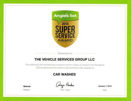 2013 Angie's List Award Carwashes